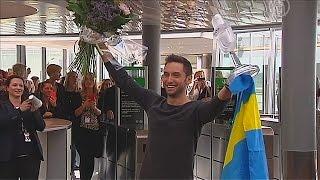 Шведы радуются победе на «Евровидении-2015» (новости)