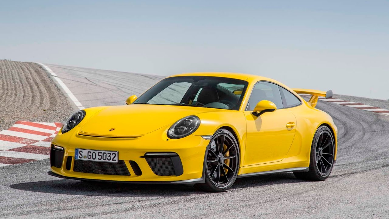 2017 Porsche 911 Gt3 Manual Review