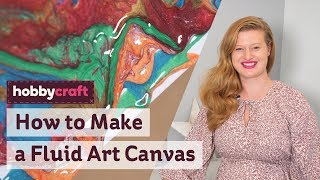 How To Make A Fluid Art Canvas