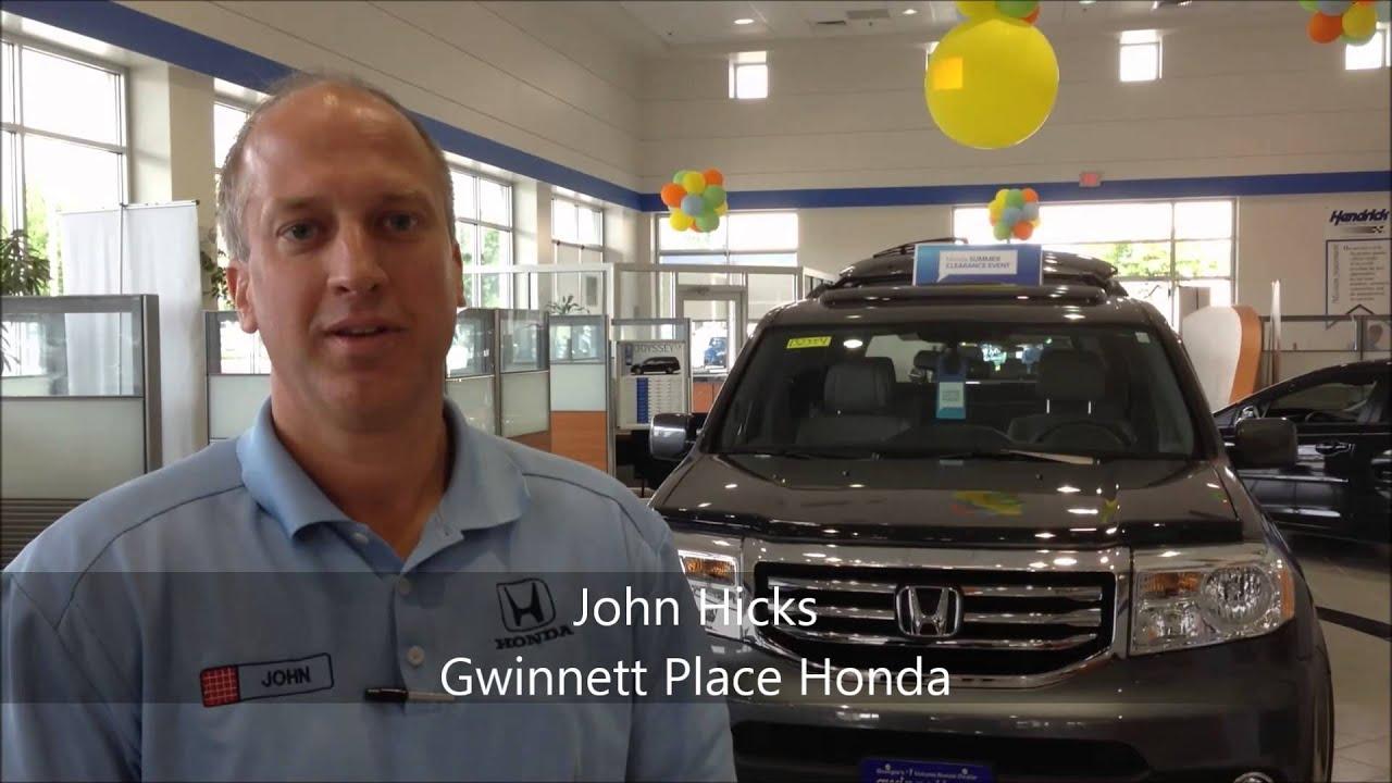 Exceptional John Hicks Gwinnett Place Honda   YouTube