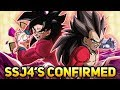IT LOOKS LIKE A BRAND NEW SSJ4 GOKU & SSJ4 VEGETA ARE THE 4 YEAR UNITS! (DBZ: Dokkan Battle)
