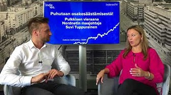 Puhutaan osakesäästämisestä! Vieraana Nordnetin Suvi Tuppurainen