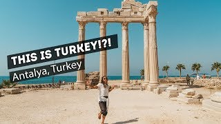 I CAN'T BELIEVE this is TURKEY!! | Antalya, Turkey