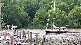 Docking at Hartges
