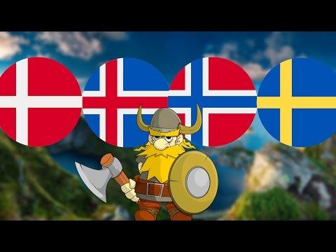 Германцы №1 : норвежцы, шведы, датчане, исландцы, фарерцы
