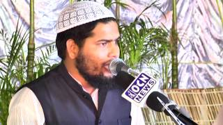 Qari Tabish Rehan of Azamgadh,UP reciting Naath at 21st Jalse Milad Un Nabi of MBT.m2p