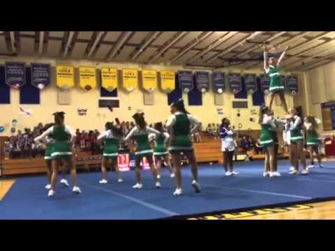 St Juliana School. Cheerleading Team 2015. 2nd Performanceb