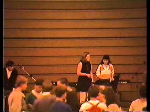 1988 Band Performance at Monta Vista High School, Cupertino CA, Part One