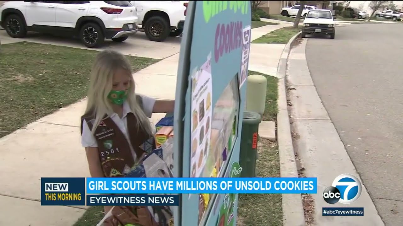 Girl Scouts say they have millions of boxes of unsold cookies due to ...