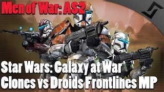 Clones vs Droids in the Jungle! - Men of War: Assault Squad 2 - Star Wars: Galaxy at War Multiplayer