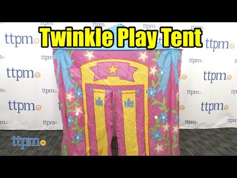 new product 2bea1 cc897 Twinkle Play Tents Princess Palace from Jay @ Play - YouTube
