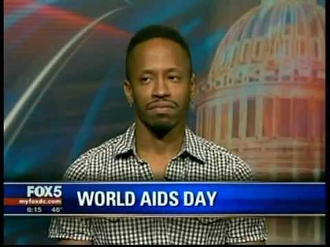 Justin's HIV Journal: World AIDS Day 2012 Fox 5 News WTTG Interview