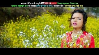 New Nepali lok song 2073 | Palpalma japchhu timrai naam | Samjhana Lamichhane Magar HD