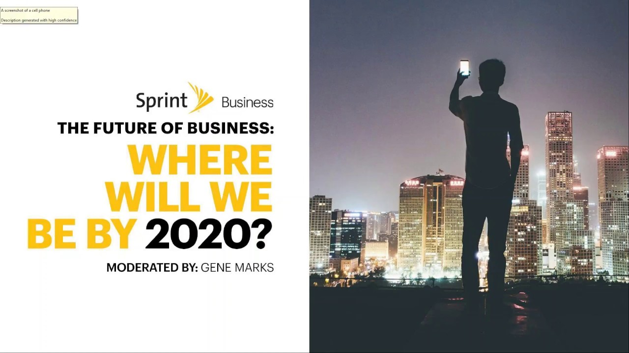 Business 2020.The Future Of Business Where Will We Be By 2020