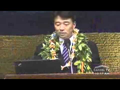Senate President Shan S. Tsutsui Opening Day 2012 Speech