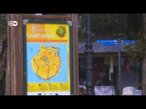 Desierto y clima tropical: la isla española de Gran Canaria | Euromaxx
