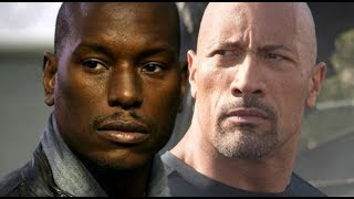 The Rock Claps Back at Tyrese in