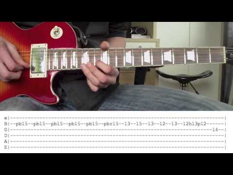'By The Sword' by Slash Solo Lesson WITH TABS