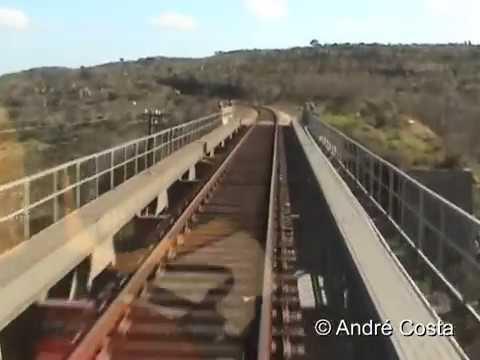 EXCLUSIVO: Cab Ride CP 100 (Nohab) Ramal de Cáceres: Parte 2 de 2: Vale do Peso - Marvão/Beirã