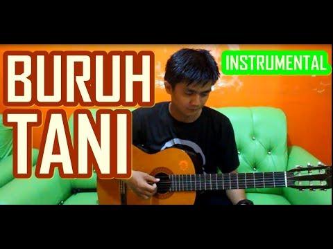 BURUH TANI Instrumental (Gitar)