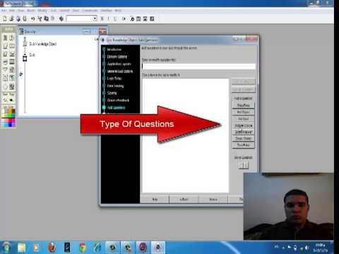 How to make (Quiz) on Authorware