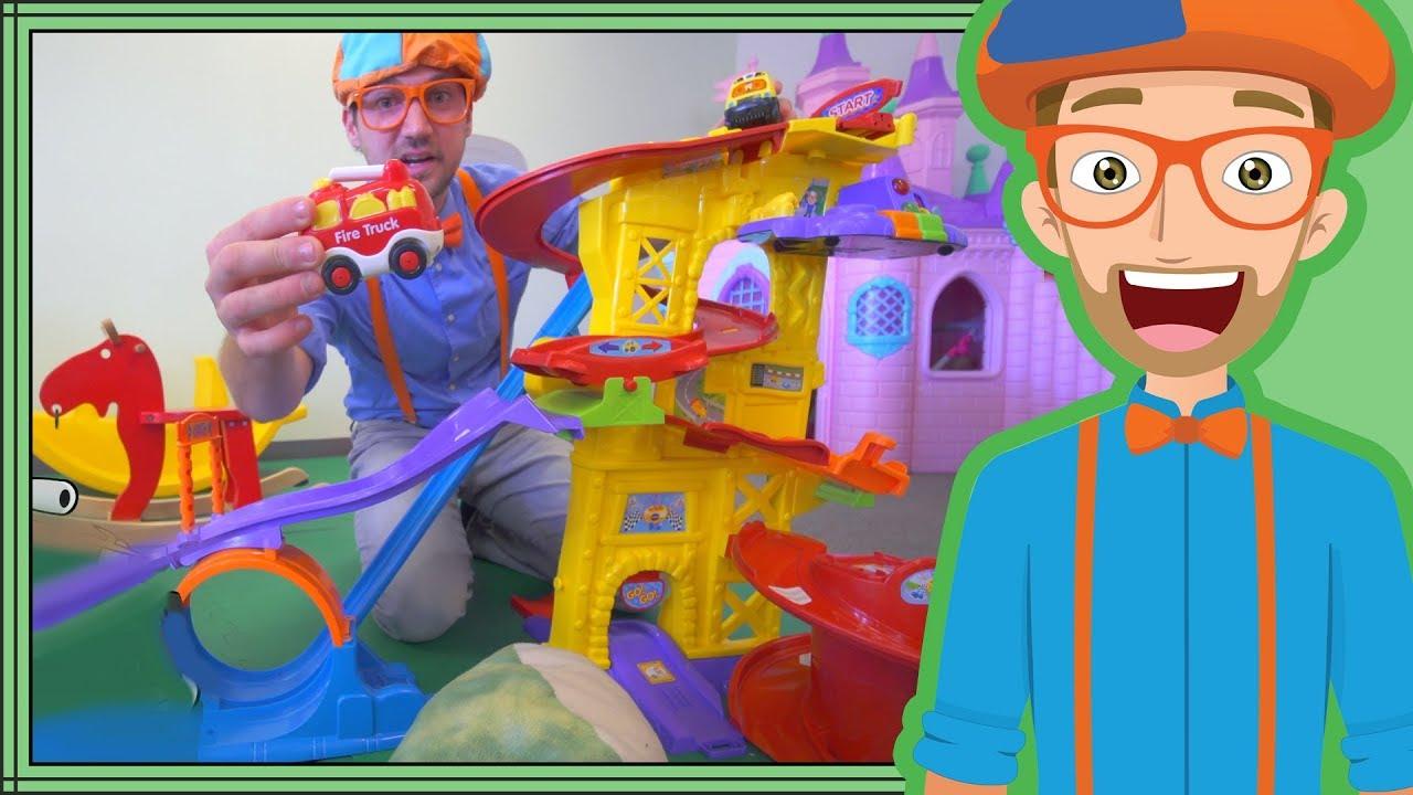 Educational Blippi Videos For Children Learning Movement Verbs For Kids Youtube