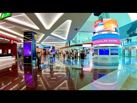 Walk at Dubai Airport Departure Terminal