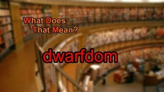 Best Alternative to Dwarfdom