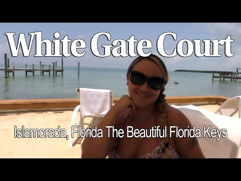 White Gate Court Islamorada Florida Keys with Host Mariah Milano!