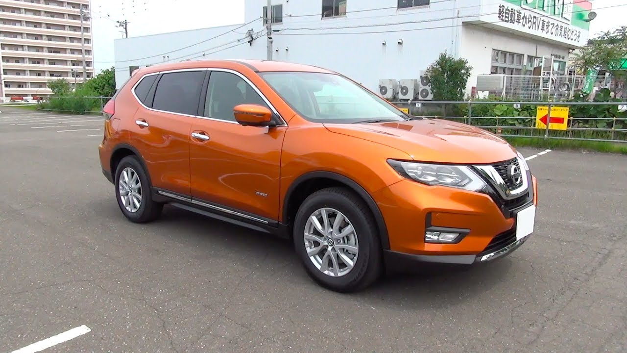 2017 new nissan x trail rogue hybrid 4wd exterior interior youtube. Black Bedroom Furniture Sets. Home Design Ideas