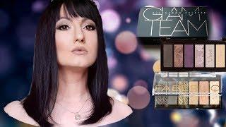 Палета теней для век Beauty Vibes FABERLIC GlamTeam Свотчи НатальяПетрова
