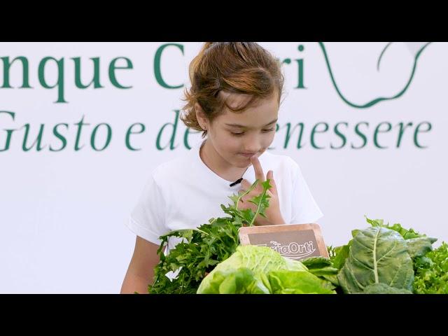 I cinque colori del Gusto e del Benessere - colore verde - video teaser -15s