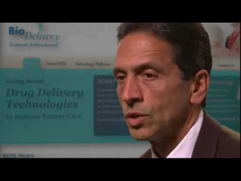 BioDelivery Sciences International CEO Video