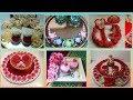 Engagement ring tray decorations ideas    Wedding tray decoration ideas   