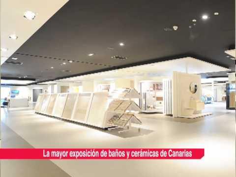 La mayor exposición de baños y cerámicas de Canarias - YouTube