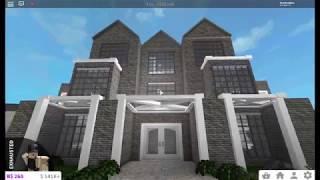 Roblox Bloxburg - 3 Story Modern House Tour 126K