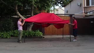 """Торговый шатер, палатка. Обзор. Команда """"Первый Украинский"""""""