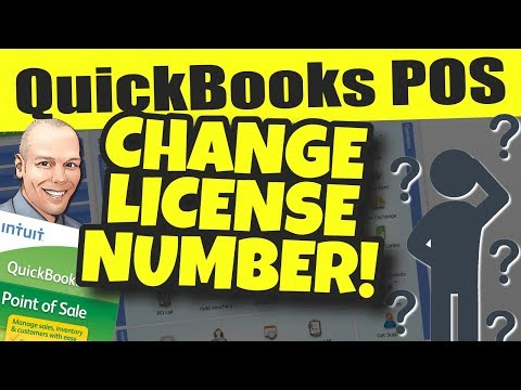 QuickBooks POS: Change License Number Without Reinstalling