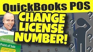 Quickbooks pos facebook group: http://qbposgroup.blackrockbusiness.com pos: change license number without reinstalling point of sale ch...