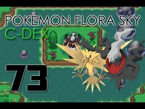Pokemon flora sky hippowdon temple map