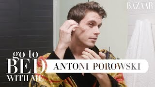 Queer Eye's Antoni Porowski's Nighttime Skincare Routine | Go To Bed With Me | Harper's BAZAAR