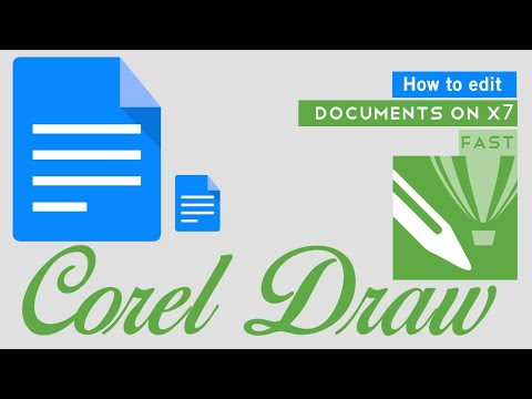 How To Edit Document On Corel X7 By Ts Tech Talk