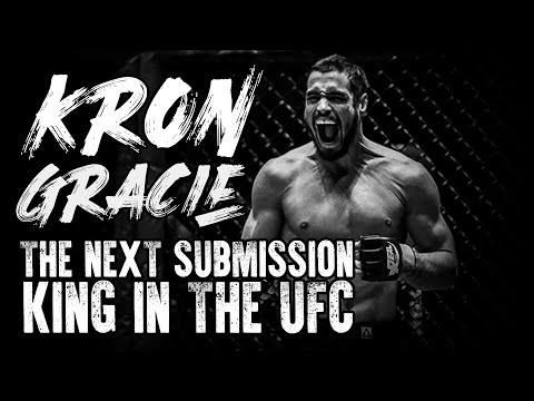 Kron Gracie: The next submission king in the UFC | Arm bar study