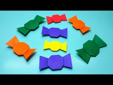 Origami Tutorial - How To Fold Origami Candy