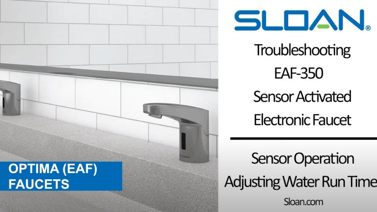eaf 350 faucet maintenance video