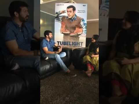 Catch up with director Kabir Khan, as he discusses his upcoming Salman Khan starrer Tubelight