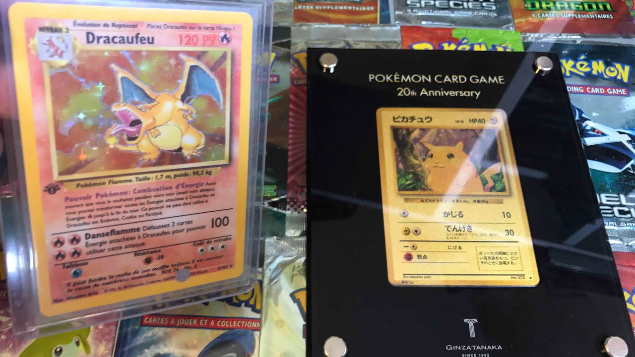 top 10 carte pokemon cheres ultra rare youtube. Black Bedroom Furniture Sets. Home Design Ideas