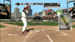 CGRgameplay - MLB 2K11 (Xbox 360) Cardinals Vs. Astros Gameplay Part 11