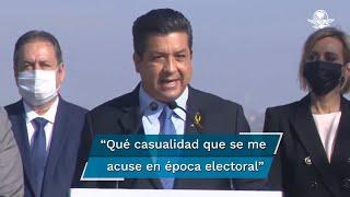 """El mandatario Francisco García Cabeza de Vaca dijo que era de """"mínima decencia política"""" haberlo llamado a comparecer hace un año, cuando iniciaron las acusaciones en su contra, y no ahora, que inicia el proceso electoral, """"Qué casualidad"""", expresó."""