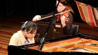 nina fan piano middle school 1st place piano concerto no 23 kv 488